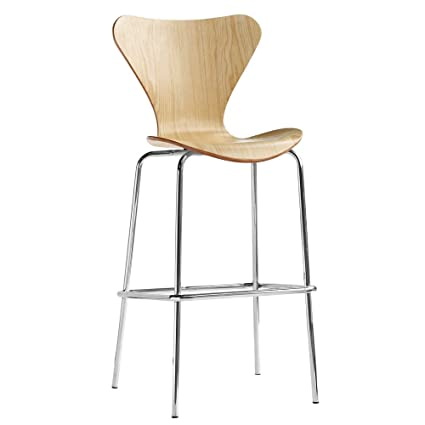 Amazon Com Nova Furniture Group Jays Bar Stool Natural Home Kitchen