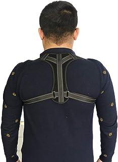 JMung Redresse Dos pour Homme et Femme La Bande de Correction de la clavicule à Sangles réglables est utilisée pour améliorer la Posture Soulagement de la Douleur