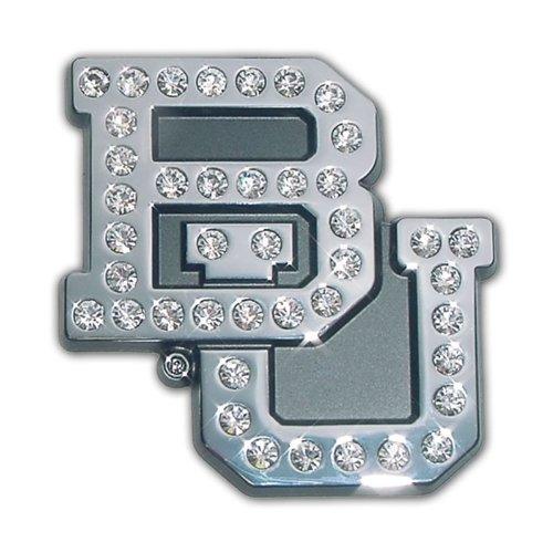 Baylor University Bears Austrian Crystals & Chrome NCAA College Sports Premium Metal Car Truck Motorcycle Emblem