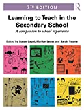 img - for Learning to Teach in the Secondary School: A companion to school experience (Learning to Teach Subjects in the Secondary School Series) (Volume 2) book / textbook / text book