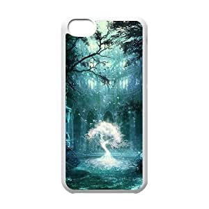 linJUN FENGProtection Cover Hard Case Of Fantasy Fairy Tale Cell phone Case For iphone 5/5s