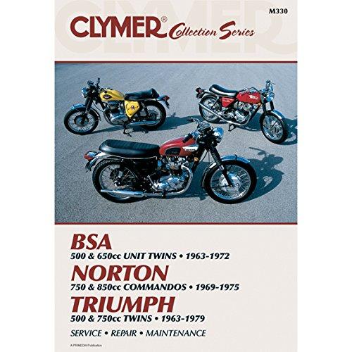 Clymer Vintage British Street Bikes Manual M330