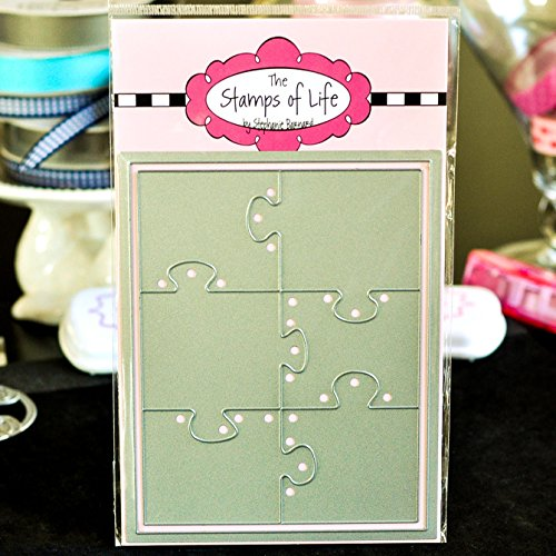 Large Puzzles Card Making Dies for Scrapbooking and DIY Crafts and DIY Crafts by The Stamps of Life - Patterns and - Pattern Background
