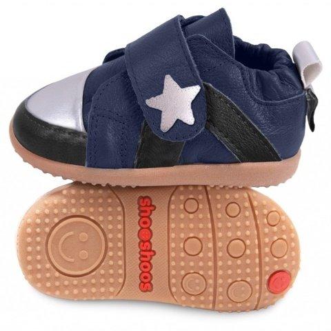 ShooShoos - Zapatos primeros pasos para niño azul azul, azul (azul), 19