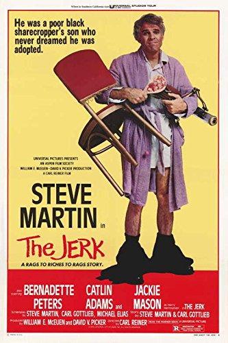 The Jerk Movie POSTER 27 x 40, Steve Martin, Bernadette Peters, A, MADE IN THE U.S.A.