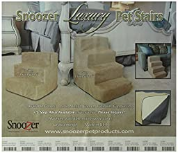 Snoozer  Luxury Pet Stairs,   4-Step, Buckskin