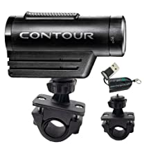 """ChargerCity OEM 1/4"""" 20 Tripod Bike Bicycle Motorcycle ATV Mount for Contour Contour HD Roam Roam2 camera Action Camcorder (Fits handle bar up to 1.3""""). Also compatible with iON Air Pro 2 3 Sony HDR Veho Muvi Micro Kodak PLaysport Flip DV units"""