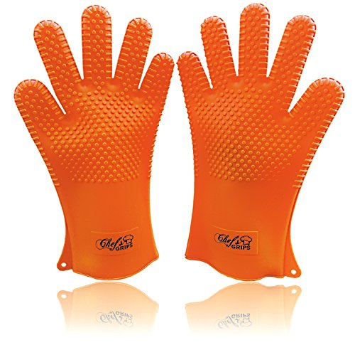 Best Prices! LONGEST Heat Resistant Kitchen Cooking Premium Glove Set | Best Quality Design Stain & ...
