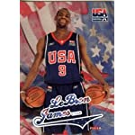 2003/04 Fleer USA Lebron James Rookie Card in Mint Condition Shipped in Ultra.