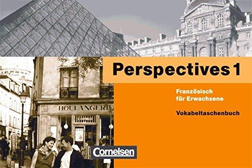 Perspectives. Französisch für Erwachsene / Band 1 - Vokabeltaschenbuch