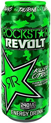 Energy & Sports Drinks: Rockstar Revolt