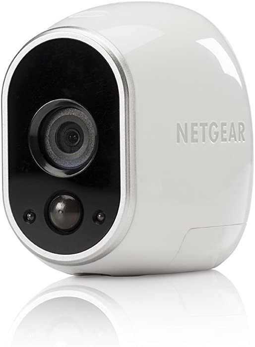 Arlo - Add-on Camera with Motion Detection | Night vision, Indoor/Outdoor, HD Video, Wall Mount | Cloud Storage Included |Works with Arlo Base Station (VMC3030), White