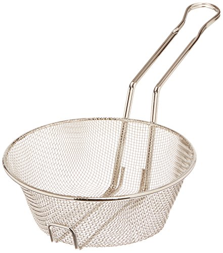 (Winco Culinary Basket, 8-Inch Diameter, Fine Mesh)