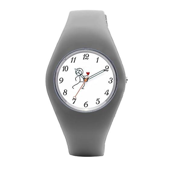 Barato Deportes Relojes objetivo es mejor reloj de pulsera deportivo: Amazon.es: Relojes