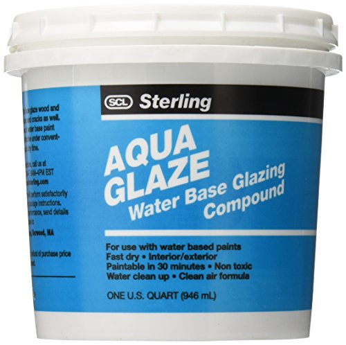 SCL Sterling Quart Aqua Glaze Water Base Glazing Compound (Base Quart)