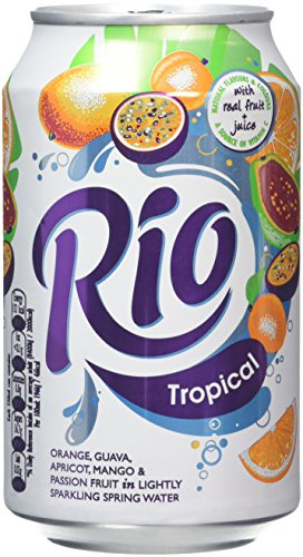 Rio Tropical Fruit Juice Drink 330 ml (Pack of 24)