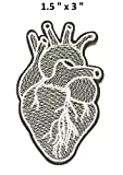 Patch of Iron on Patches #11, Heart iron on Patch Embroidered patches / Cool Patches for Jeans,Prime Patches by BossBee