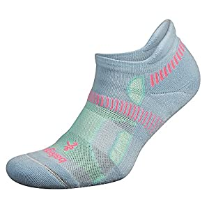 Balega Hidden Contour Socks For Men and Women (1-Pair), Cool Blue/Aqua, Small