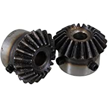 1 Mod 53T Spur Gear Steel Motor Pinion Gear Thickness 10mm Outer Dia 55mm x 1Pcs
