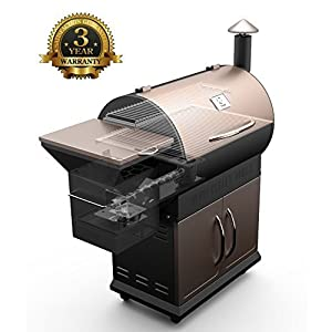 Z Grills ZPG-450A 2018 Upgrade Model, Wood Pellet Smoker