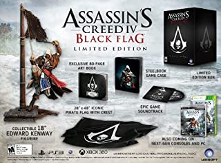 Assassin's Creed IV Black Flag LE - PlayStation 3 Limited Edition by Ps3 (B00DYDML48) | Amazon Products