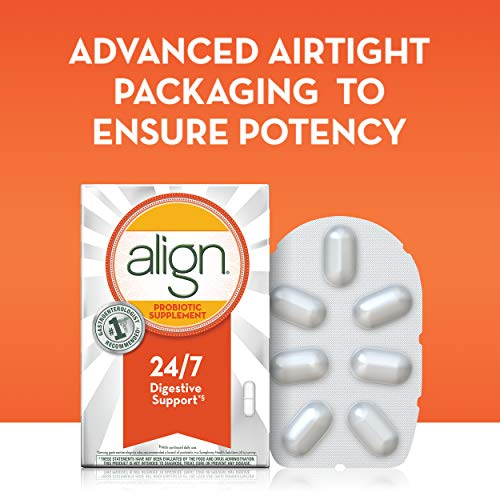 Align Probiotics Supplement for Digestive Health in Adult Men and Women, 63 Probiotic Capsules - Bifidobacterium 35624 - #1 Doctor Recommended Probiotics Brand by Align (Image #8)