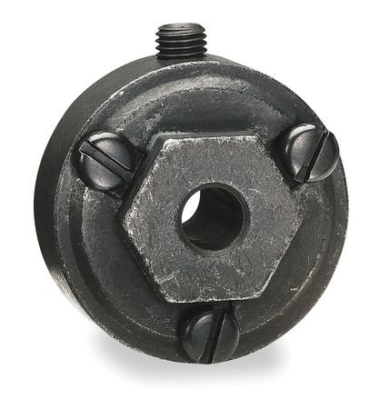 "Dayton 5/8"" Alloy Steel Interchangeable Hex Hub - 2A565"