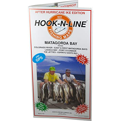 Hook-N-Line Map F108 Matagorda Bay
