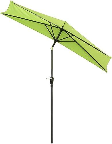 Yescom 10ft Outdoor Patio Half Umbrella
