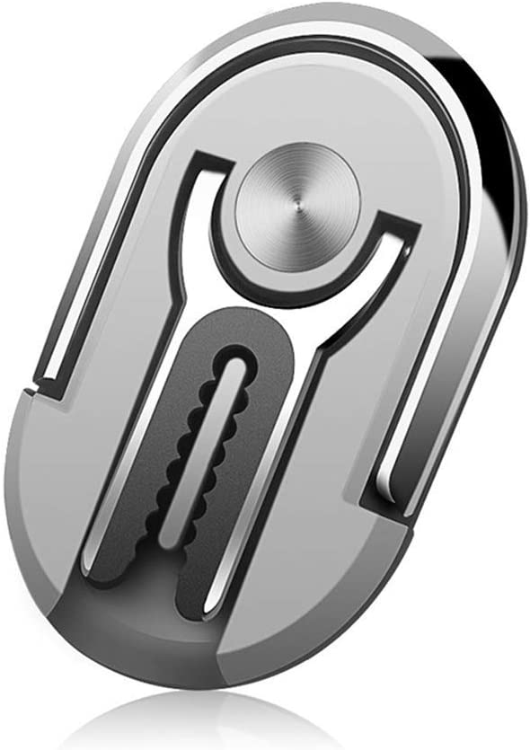 KOSIMI Multipurpose Mobile Phone Bracket Holder Stand 360 Degree Rotation Cellphone Mount for Car Home 2-Pack