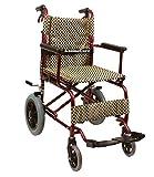 Kosmocare Stylex Ultra Lightweight Transporter Wheelchair With Seat Belt- Blue