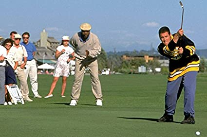 Amazon com: Adam Sandler in Happy Gilmore on golf course