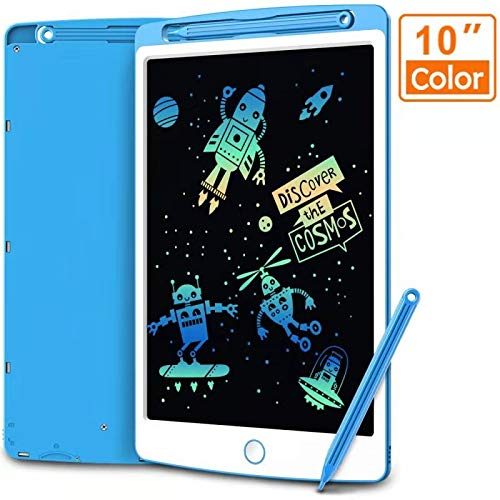 LCD Writing Tablet, Coovee 10 Inch Digital Ewriter Electronic Graphics Tablet Portable Mini Board Handwriting Pad Drawing Tablet with Memory Lock Suitable for Kids Home School Office