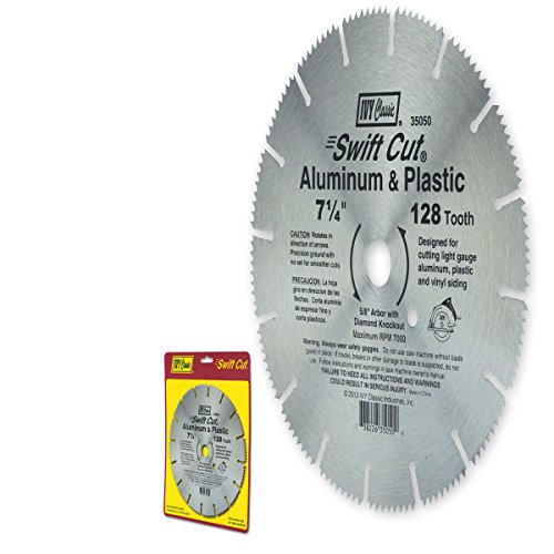 ivy-classic-35050-swift-cut-7-1-4-inch-128-tooth-aluminum-plastic-cutting-circular-saw-blade-with-5-