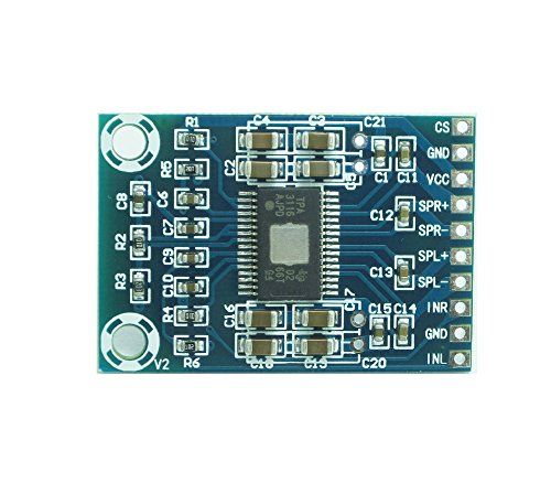 WINGONEER Mini TPA3116D2 Digital Amplifier Board Class-D Dual-Channel Amplifier Board 2x50W DC 12-24V