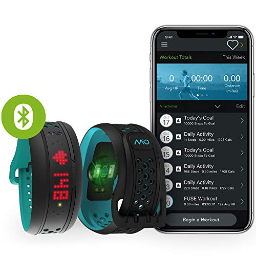 Mio Fuse Wireless Activity Tracker Aqua 59PREG