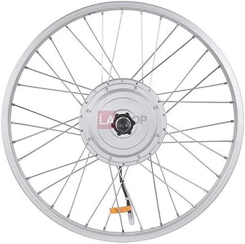 Kit de bicicleta el/éctrica RICETOO 36V 48V 250W Rueda de radios delanteros Motor de cubo de engranaje sin escobillas 16 20 24 26 27.5 28 700C Con pantalla KT-LED900S Kit de conversi/ón de bicicleta el/éctrica