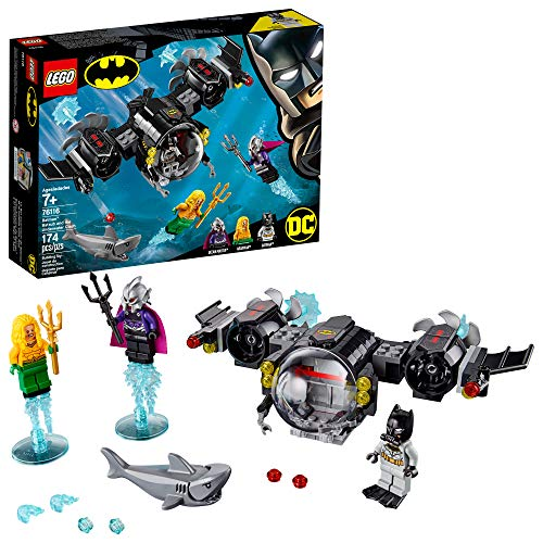 - LEGO DC Batman: Batman Batsub and The Underwater Clash 76116 Building Kit , New 2019 (174 Pieces)