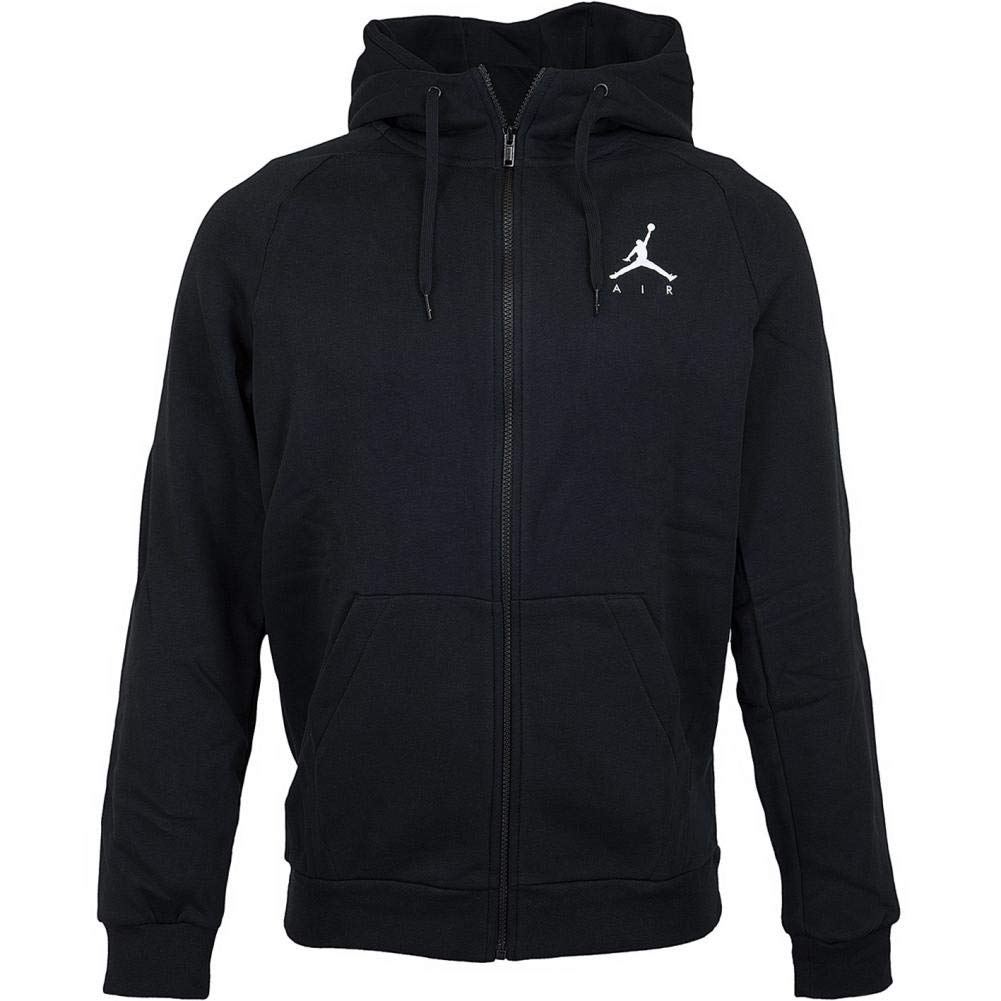 TALLA S. Nike M J Jumpman Fleece FZ Hooded Long Sleeve Top, Hombre