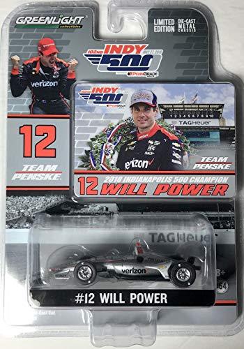 (Greenlight 10825 1: 64 2018#12 Will Power/Team Penske, Verizon/ 2018 Indianapolis 500 Champion)