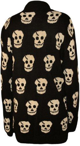 Buy black skull cardigans for women