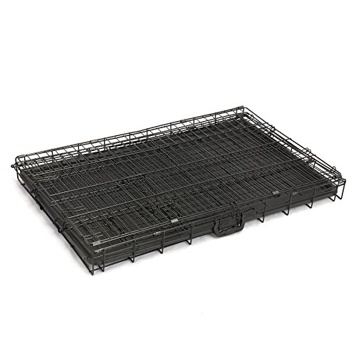 Magshion XS-XL 5 Sizes Travel Folding Metal Dog Crate Kennel House (XL-42inch)