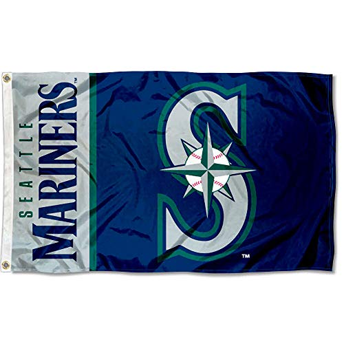 Wincraft Seattle Mariners Flag 3x5 MLB Banner