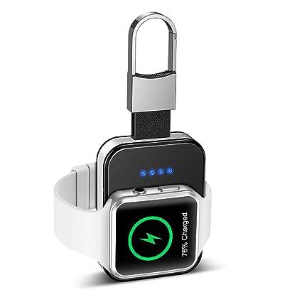 HOPQ Cargador inalámbrico Compatible con Apple Watch Travel ...