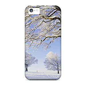CMR43605EfRr Phone Cases With Fashionable Look For Iphone 5c - Frozen Terrain