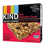 KIND Healthy Grains Granola Bars Dark Chocolate Chunk 5ct, Gluten Free, 35g