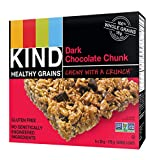 KIND Healthy Grains Granola Bars Dark Chocolate Chunk 5ct, Gluten Free, 35g