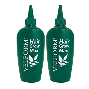 Velform Hair Grow Max - Loción crecepelo, 2 Flacons de 200 ML: Amazon.es: Hogar