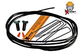 Extreme Dog Fence Wire Repair Kit Complete 14 Gauge 10FT Wire - 2 Splice Kits and 5 Yard Staples