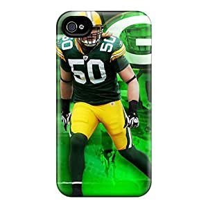 High Impact Dirt/shock Proof Cases Covers For Iphone 4/4s (green Bay Packers)